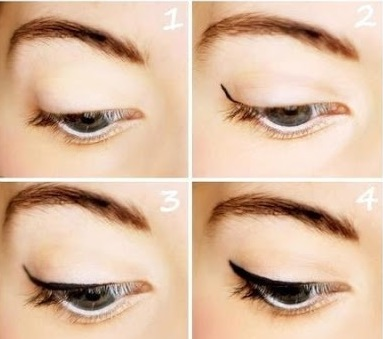 Стрелки на глазах: техника безупречного нанесения